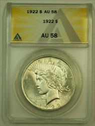 1922 Peace   $1 ANACS (Undergraded IOO)