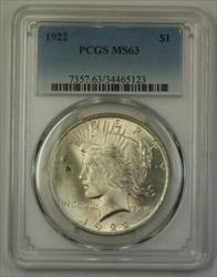 1922 US Peace   $1  PCGS (17k)