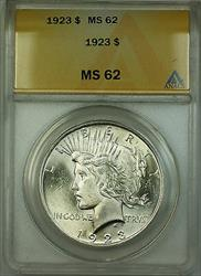 1923  Peace  $1  ANACS (Better ) (A) RL