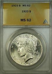 1923  Peace  $1  ANACS RL (B)