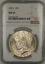 1923  Peace  $1  NGC (14a)