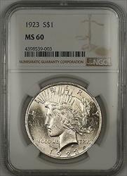 1923  Peace  $1  NGC (14b)