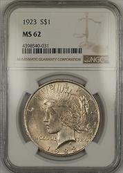 1923  Peace  $1  NGC (14e)