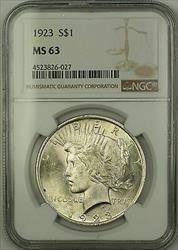 1923  Peace  $1  NGC (15a)