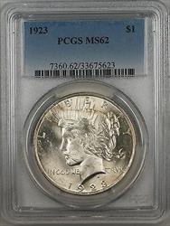 1923  Peace  $1  PCGS (9a)