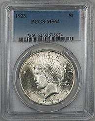 1923  Peace  $1  PCGS (9b)