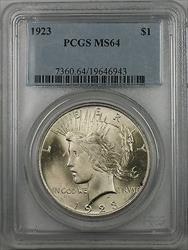 1923  Peace  $1  PCGS (BR 12 O)