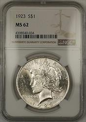 1923  Peace  $1 NGC (Better ) (14c)