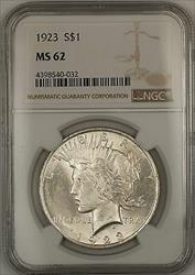 1923  Peace  $1 NGC (Better ) (14f)