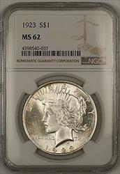 1923  Peace  $1 NGC (Better ) (14g)