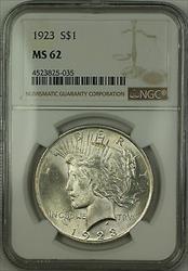 1923  Peace  $1 NGC (Better ) (15c)