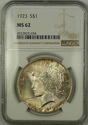 1923  Peace  $1 NGC Lightly Toned (Better ) (15b)