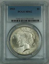 1923  Peace  $1 PCGS  (Better Very Choice )