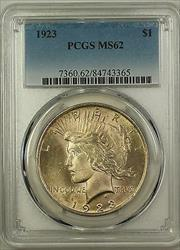 1923  Peace  $1 PCGS (Better ) (16a)
