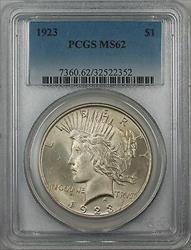 1923  Peace  $1 PCGS 5B