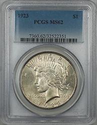 1923  Peace  $1 PCGS 5C