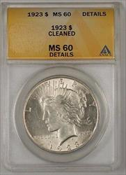 1923 Peace    $1 ANACS Details Cleaned (2)