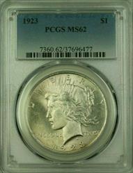 1923 Peace   $1  PCGS (16) C