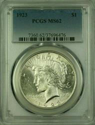 1923 Peace   $1  PCGS (16) D
