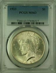 1923 Peace   $1  PCGS (16) H
