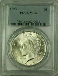 1923 Peace   $1  PCGS (16) I