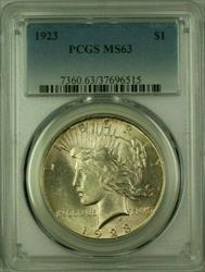 1923 Peace   $1  PCGS (16) L