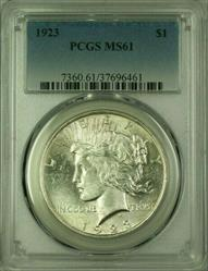 1923 Peace   $1  PCGS (Better ) (16) A