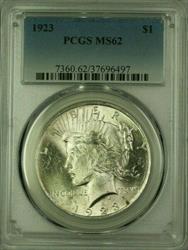 1923 Peace   $1  PCGS (Better ) (16) B