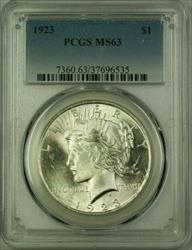 1923 Peace   $1  PCGS (Better ) (16) M