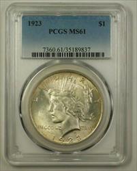 1923 Peace   $1  PCGS (Better) (A) (18)
