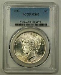 1923 Peace   $1  PCGS (Better) (C) (18)