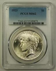 1923 Peace   $1  PCGS (Better) (E) (18)
