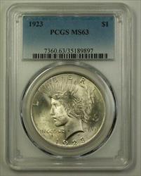 1923 Peace   $1  PCGS (C) (Better) (18)