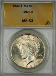 1923 Peace   $1 ANACS (Better ) (10a)