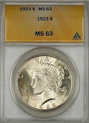 1923 Peace   $1 ANACS (Better ) (10c)