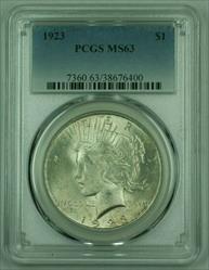 1923 Peace   PCGS (25) (A)