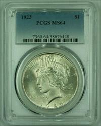 1923 Peace   PCGS (25) (C)