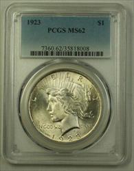1923 US  Peace  $1  PCGS (Better) (F) 19