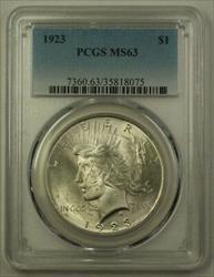1923 US  Peace  $1  PCGS (H) 19