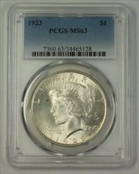 1923 US Peace   $1  PCGS (17a)