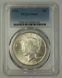 1923 US Peace   $1  PCGS (17b)