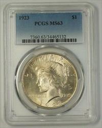 1923 US Peace   $1  PCGS (17e)