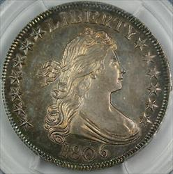 1806 Draped Bust Half   PCGS GEM O 123 finest known INCREDIBLE