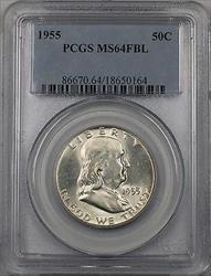 1955 Franklin  Half  50c  PCGS FBL (BR 30 C)