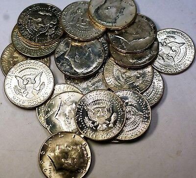 1966 Kennedy Half  50 Cents Roll 40%  20 BU s