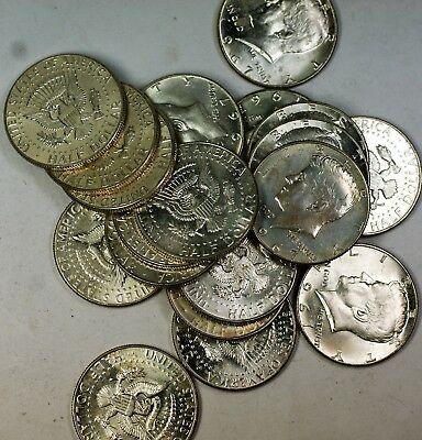 1967 Kennedy Half  50 Cents Roll 40%  20 BU s
