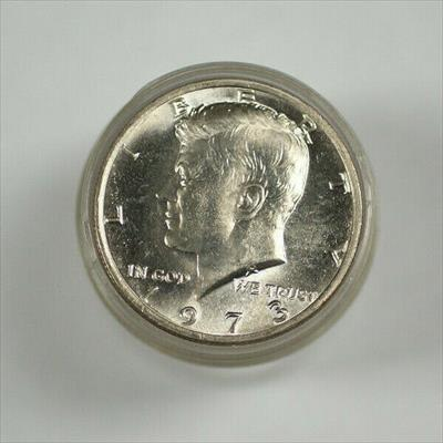 1973 United States Roll of Kennedy Half s 20 s Total