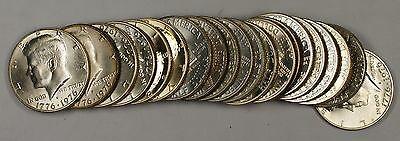 1976 S  BU Kennedy Half  Roll 50c 20 s