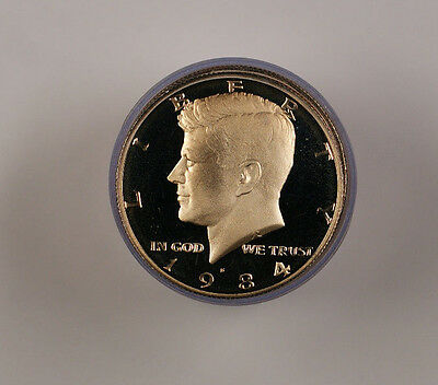1984 S Kennedy Proof Half  Roll 50c 20 s See Description
