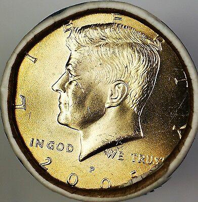 2005 P Kennedy Half  $10 OBW Roll American s